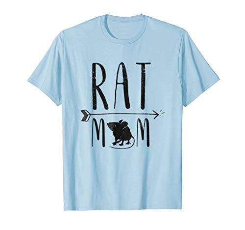 - Rat Mom - Funny Retro Pet Mouse Rat or Rodent Gift T-Shirt