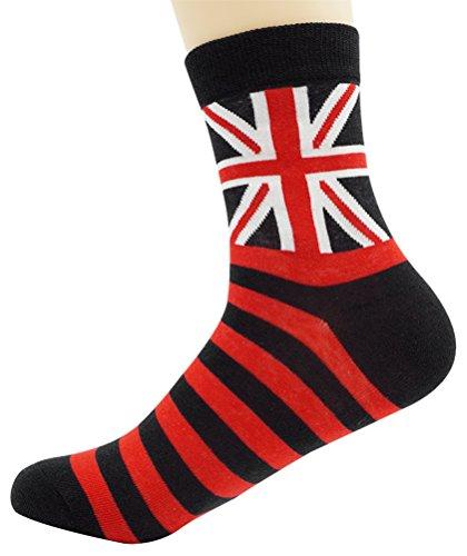 union jack socks - 9