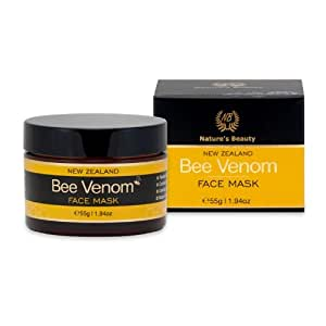 Nature's Beauty Organic Bee Venom Mask, 55 Grams