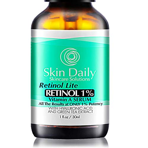 Best Retinol Serum - Women Ages 45+ Complex Lite Formula - Concentrated Dose Day/Night for All Skin Types - 1 fl oz