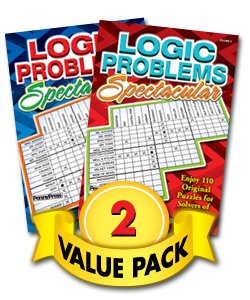 Logic Problems Spectacular - 2 Pack