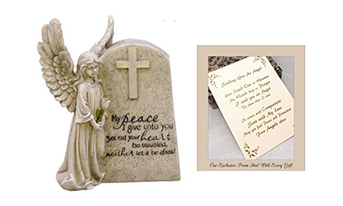 (Angel of Peace to Express Sympathy for Funeral Or Memorial Comfort The Grieving for Loss of A Loved One)