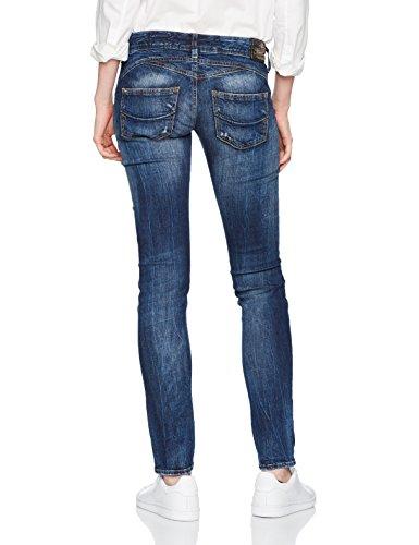 Herrlicher road Blu 642 Gila Slim Jeans Donna Tested r7ZTrq