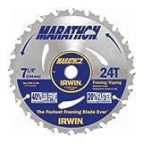 Irwin 14030 / 24030 Marathon 7-1/4-Inch 24-Tooth Circular Saw...