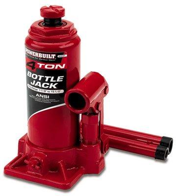 Powerbuilt 640905 Heavy Duty 4-Ton Bottle Jack