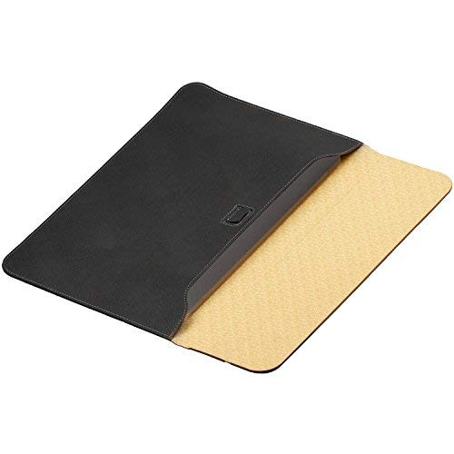 OMOTON Laptop Sleeve with Stand Function, Slim Carrying Bag Compatible 2018/2019 New MacBook Air 13 inch, Black by OMOTON