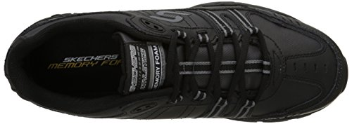 Skechers Sport Men's Afterburn Memory Foam Strike On Training Shoes Black cost online discount good selling in China online in China sale online free shipping classic Npc0i0Q