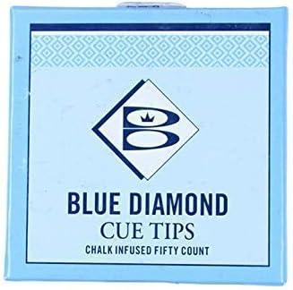 Brunswick Blue Diamond - Puntas para taco de billar (5 unidades, 10 mm): Amazon.es: Deportes y aire libre