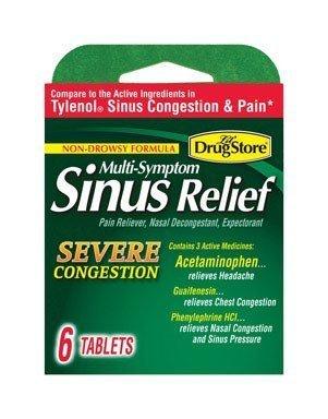 SINUS MEDICINE 6CT by LIL DRUGSTORE MfrPartNo 97443
