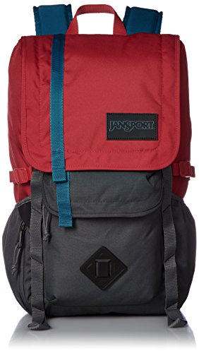 Red Gray 100 Polyester Bolsas Forge Pack Back Hatchet Hombres Tape Jansport 8ZFqRzWZ