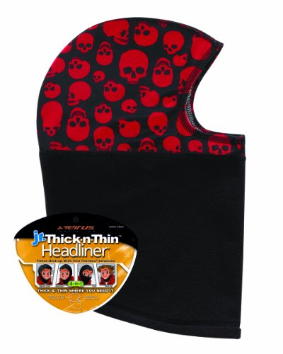 (Seirus Innovation Thick N Thin Headliner, Skulls, One Size)