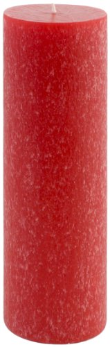 Root Scented Timberline Pillar Candle, 3-Inch by 9-Inch Tall, Hollyberry