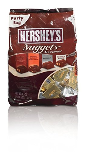 Nuggets Chocolate (Hershey's Nuggets, Assortment, 38.5 oz Bag, 2 Bags)
