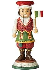 Jim Shore Italian Nutcracker Resin Figurine 10 in