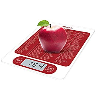 Mackie C19 Food Scale, Digital Kitchen Scale Weight Grams and Oz Fast Simple 1g / 0.1 oz Accurate 13lbs Max For Cooking Baking Meal Prep Diet Health