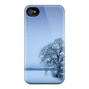 New UExiGCf8946jGcUw Winter Tpu Cover Case For Iphone 4/4s