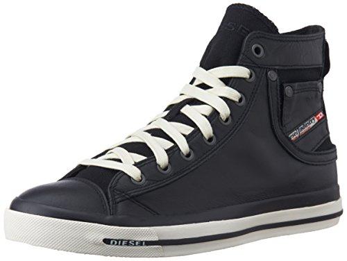 """Diesel """"MAGNETE"""" EXPOSURE I - sneaker - Zapatillas de cuero para hombre multicolor multicolor negro - Schwarz (T8013)"""