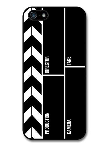 Cute Cool Film Movie Director Clapper Board Funny Design case for iPhone 5 5S