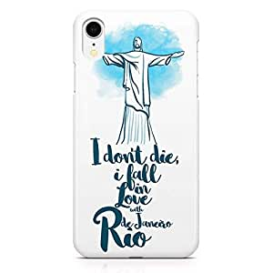 Loud Universe Case for iPhone XR Wrap Around Edges Rio Famous World Destination Heavy Duty Light Weight Modern iiPhone XR Cover