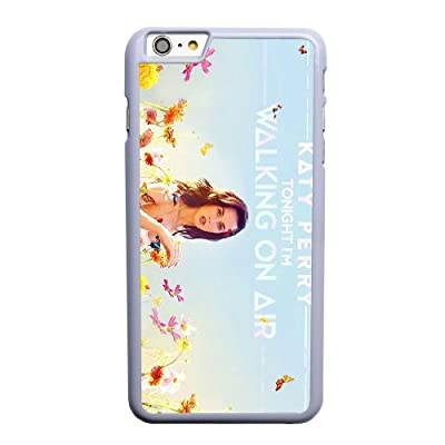 Generic Katy Perry Tonight Cover Case for Apple iPhone 6/6S plus (5.5 inch) White Printed Cell Phone Case KLN51984