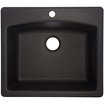 Franke Ellipse 25 Quot Dual Mount Granite Single Bowl Kitchen Sink