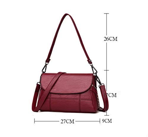 Da Viaggio In Casual Multiuso Rame Tracolla Portatile A Daypack Pelle Borsa Aggiornamento Morbida Donna Per 8WUCxSn