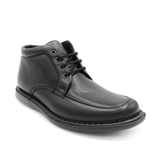FRAU FX 38P4 STIVALETTO UOMO NERO RODEO XL - LEATHER - MADE IN ITALY