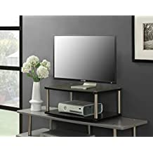 Convenience Concepts Designs-2-Go 2-Tier TV Stand, with Swivel Base