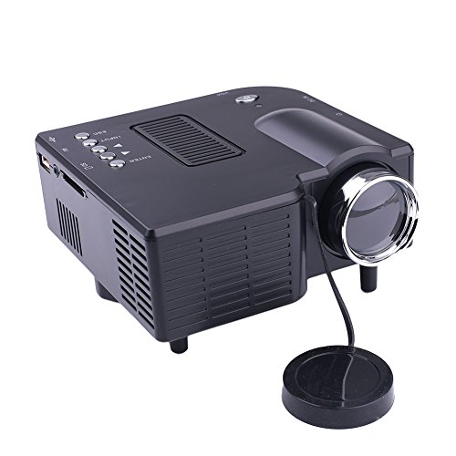 Home Multimedia Projector LED Projector for US Premium HDMI/VGA/SD/AV Port USB2.0 Business Office by ZZH