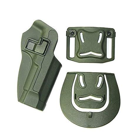 SHIYM-QTAO Colore : Tan Accessori Pistola Militare tattico Mano Destra la Cinghia della Pistola Fondina con Vita Paddle Custodia Universale di Caccia for Beretta M9 92 96