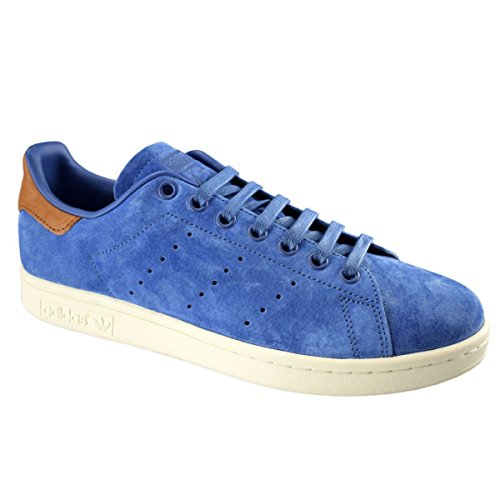 Blue Suede Trainers (adidas Mens Stan Smith Blue Suede Trainers 9 US)