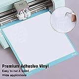 YRYM HT White Adhesive Vinyl Roll – Permanent