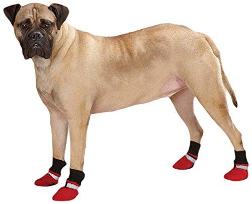 (Guardian Gear Weatherized Fleece Dog Boots, X-Small,)