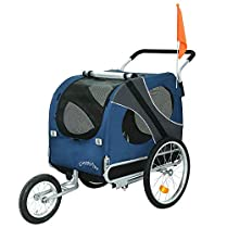 DOGGYHUT Remolque de bicicleta para perro grande 5