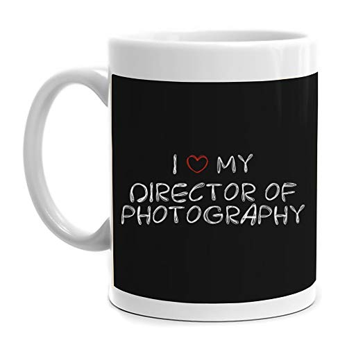 Eddany I love my Director Of Photography Scribbled Font Mug 11 ounces