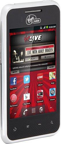 LG Optimus Elite (Virgin Mobile), White, VM696 Model