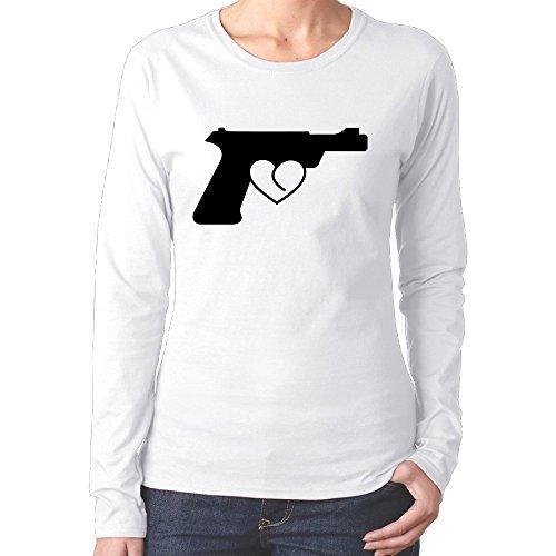 Love Gun For Women Crazy Shirts 2016