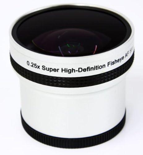 Impulsfoto 0 25x Fisheye Objektiv Kompatibel Mit Kamera