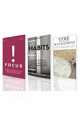 Self Discipline : 3 Manuscripts - Focus, Habits, Time Management