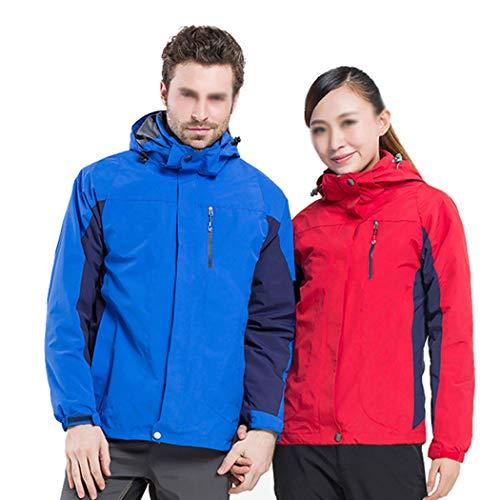 D'alpinisme Gjfeng Chaud Vêtements D'extérieur Veste Hiver Imperméable Travail Coupe Pour Respirant Bleu Clair Costume vent De Hommes 00Hnq1r