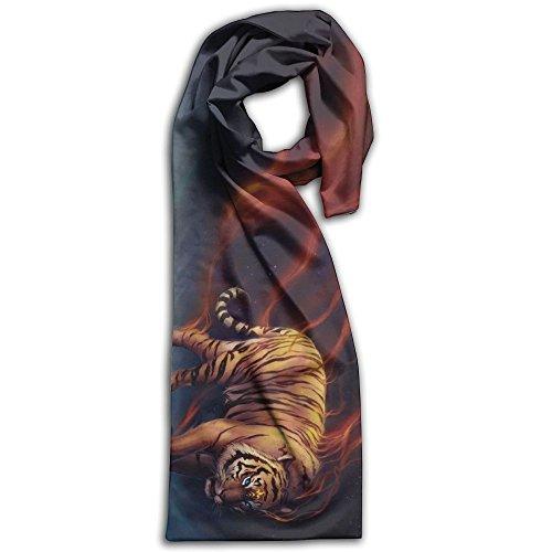 Womens Flaming Tiger - 6