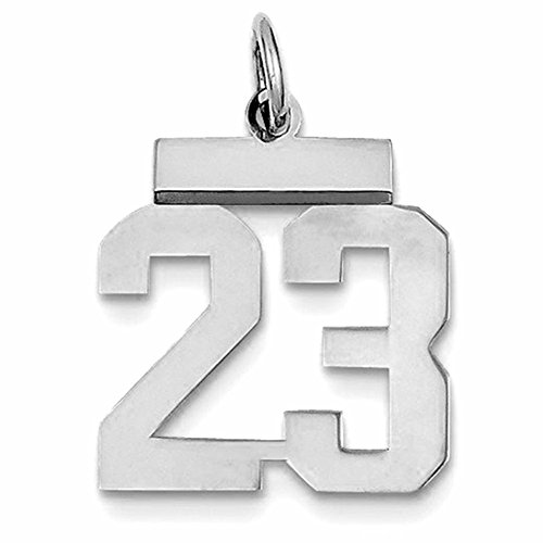 Mens Number Pendants - 3
