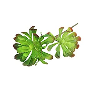 Miguor Ebonite Glue Artificial Desert Succulent Plants Decoration Plastic Green Plants Decoration Home Decor Office Plants Decoration Garden Shop Decor 120