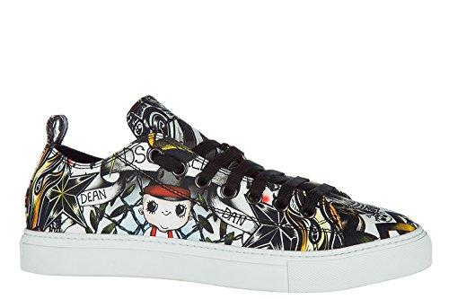 Chaussures Hommes Dsquared2 Sneakers En Nylon Hommes Chaussures Noir