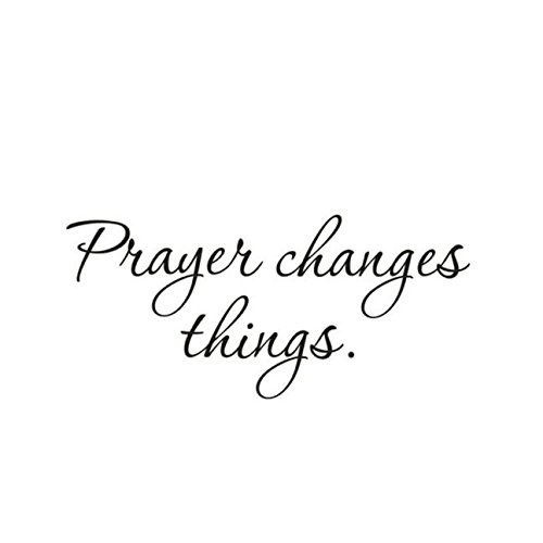 (FORUU 2019 Wall Stickers Decals Murals Prayer Changes Things Removable Art Vinyl Mural Home Room Decor Under 5 Dollars)