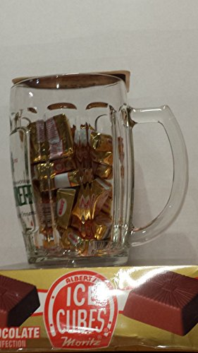 Albert Ice Cube (25 Count) Holiday Special with Beer Mug ()