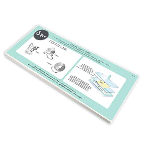 Sizzix 656780 Thin Dies Accessory Extended Magnetic Platform for Wafer