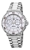 TAG Heuer Women's CAH1213.BA0863 Formula One White Diamond Chronograph Watch from TAG Heuer