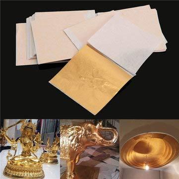 Gold Foil Confetti Curtain Birthday Imitation Gilding Decoration - 1PCs