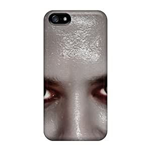 Ultra Slim Fit Hard Lajonline Case Cover Specially Made For Iphone 5/5s- Yellow Eyes